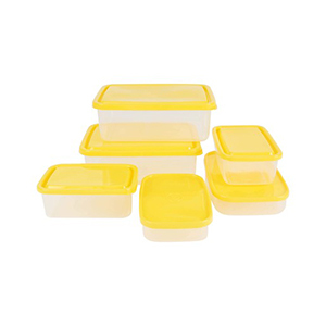 Bee Food Storage Set 6 pcs Assorted Color