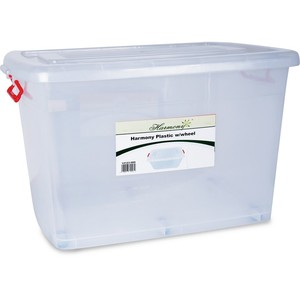 Harmony Storage Box With Wheel 70 Litre