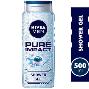 Nivea Shower Gel Pure Impact For Men 500 ml