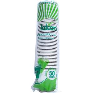 Falcon Paper Cup With Handle 7oz 50pcs