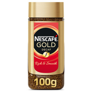 Nescafe Gold Instant Coffee Decaffeinated 100g