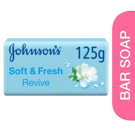 Johnson's Bath Soap Soft & Fresh Revive 125g