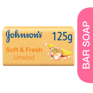 Johnson's Bath Soap Soft & Fresh Unwind 125g