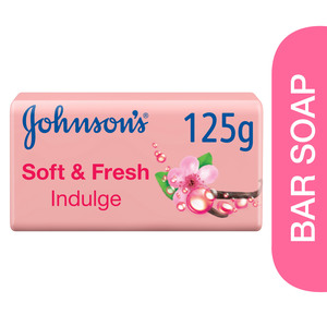 Johnson's Bath Soap Soft & Fresh Indulge 125g