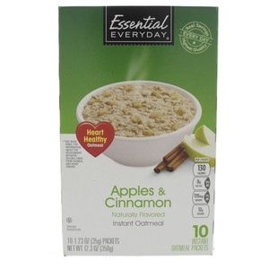 Essential Everyday Apples And Cinnamon Instant Oatmeal 350g