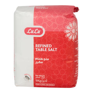 Lulu Refined Table Salt 1kg