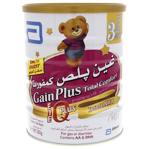 Gain Plus Total Comfort Growing Up Milk 820g