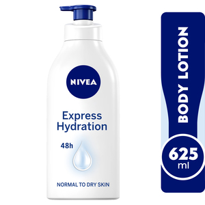 Nivea Body Lotion Express Hydration Sea Minerals Normal To Dry Skin 625ml
