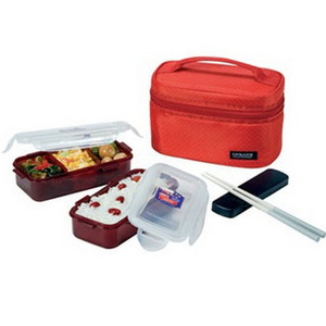 Lock&Lock Food Carrier HPL752D Red 800ml