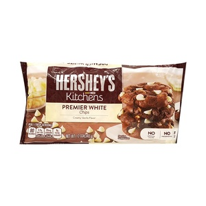 Hershey's Kitchens Premium White Vanilla Chips 340g