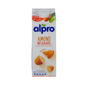 Alpro Roasted Almond Unsweetened Milk 1Litre