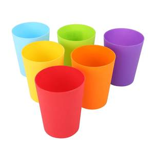 Bee Tumbler Set 6pcs 10oz Assorted Color