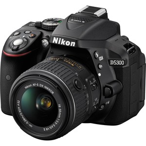 Nikon DSLR Camera D5300 18-55MM Black