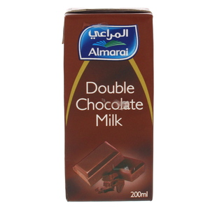 Almarai Double Chocolate Milk 200ml