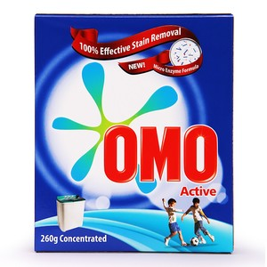 OMO Active Fabric Cleaning Powder 260g