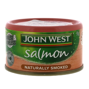 John West Salmon Naturally Smoked 95g
