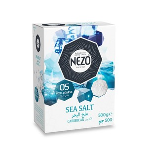 Nezo Coarse Sea Salt 500g