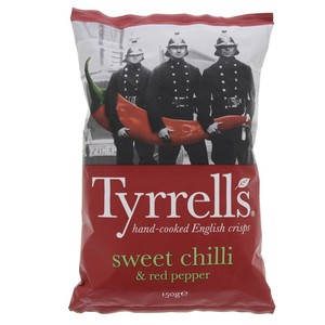 Tyrrells English Crisp Sweet Chilli and Red Pepper 150g