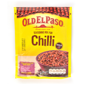 Old El Paso Seasoning Mix For Chilli Mild 39g