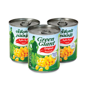 Green Giant Original Sweet Corn 3 x 150g