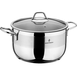 Sofram Stainless Steel Cooking Pot With Lid 26cm
