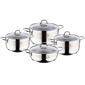 Sofram Stainless Steel Cookware Set 8pcs