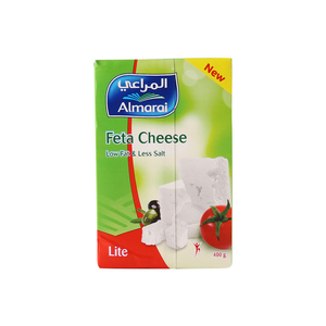 Al Marai Feta Cheese Low Fat & Less Salt Lite 400g