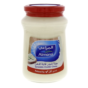 Almarai Spreadable Cheddar Cheese Reduced Fat 500g