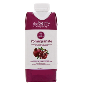 The Berry Company Pomegranate Juice Drink 330ml