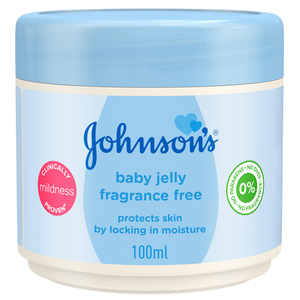 Johnson's Baby Jelly Unscented 100ml