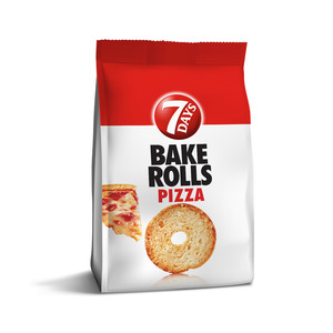 7 Days Baked Rolls Pizza 80g