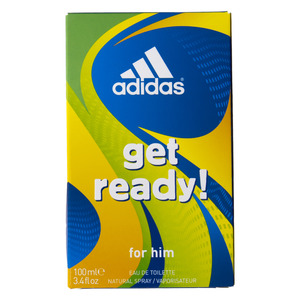Adidas get Ready EDT For Men 100ml