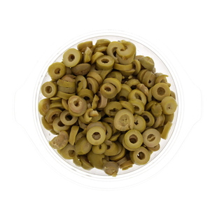 Egyptian Sliced Green Olives 300g