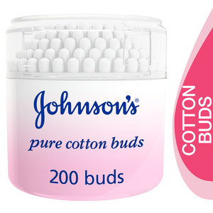 Johnson's Baby Pure Cotton Buds 200pcs