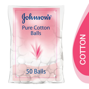 Johnson's Baby Pure Cotton Balls 50pcs