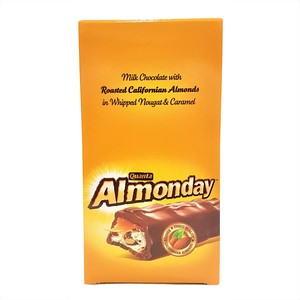Almonday Milk Chocolate with Roasted Almonds 35g