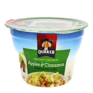Quaker Instant Oatmeal Apples And Cinnamon 43g