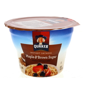 Quaker Instant Oatmeal Maple And Brown Sugar 48g