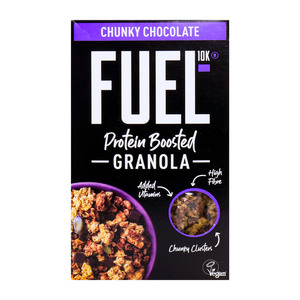 Fuel 10K Protein Boosted Granola Chunky Chocolate 400g