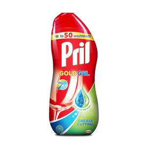Pril All In 1 Gel Grease Cutting Dishwasher Detergent 1Litre