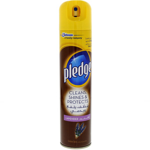 Pledge Cleans, Shines & Protects Lavender Furniture Spray 300ml