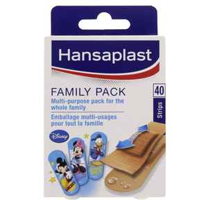 Hansaplast Family Pack 40pcs