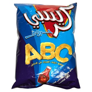 Crispy Ketchup Flavor ABC Letters Chips 80g