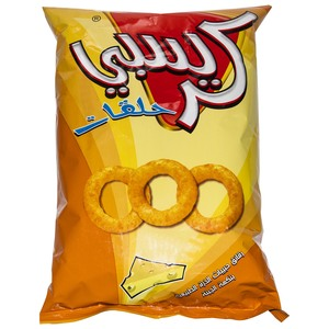 Crispy Cheese Flavor Super Rings Potato Chips 90g