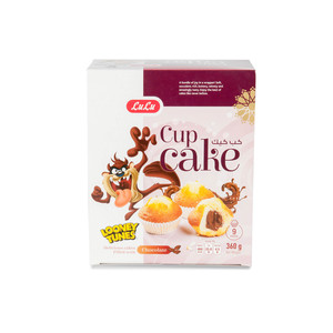 Lulu Cup Cake Chocolate Filled 360g