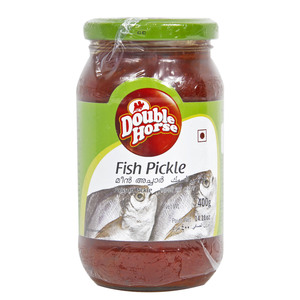 Double Horse Fish Pickle 400g