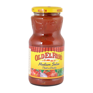 Old El Paso Medium Salsa Thick & Chunky 375g