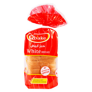 Qbake White Bread Small 1pkt