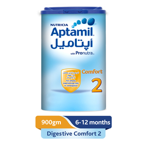 Aptamil Comfort 2 Follow On Formula Milk 900g