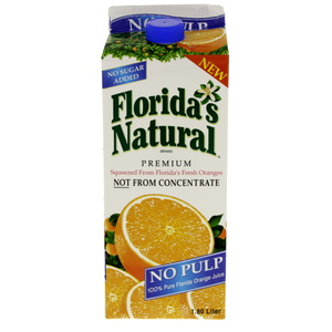 Floridas Natural Pure Orange Juice No Pulp 1.8Litre